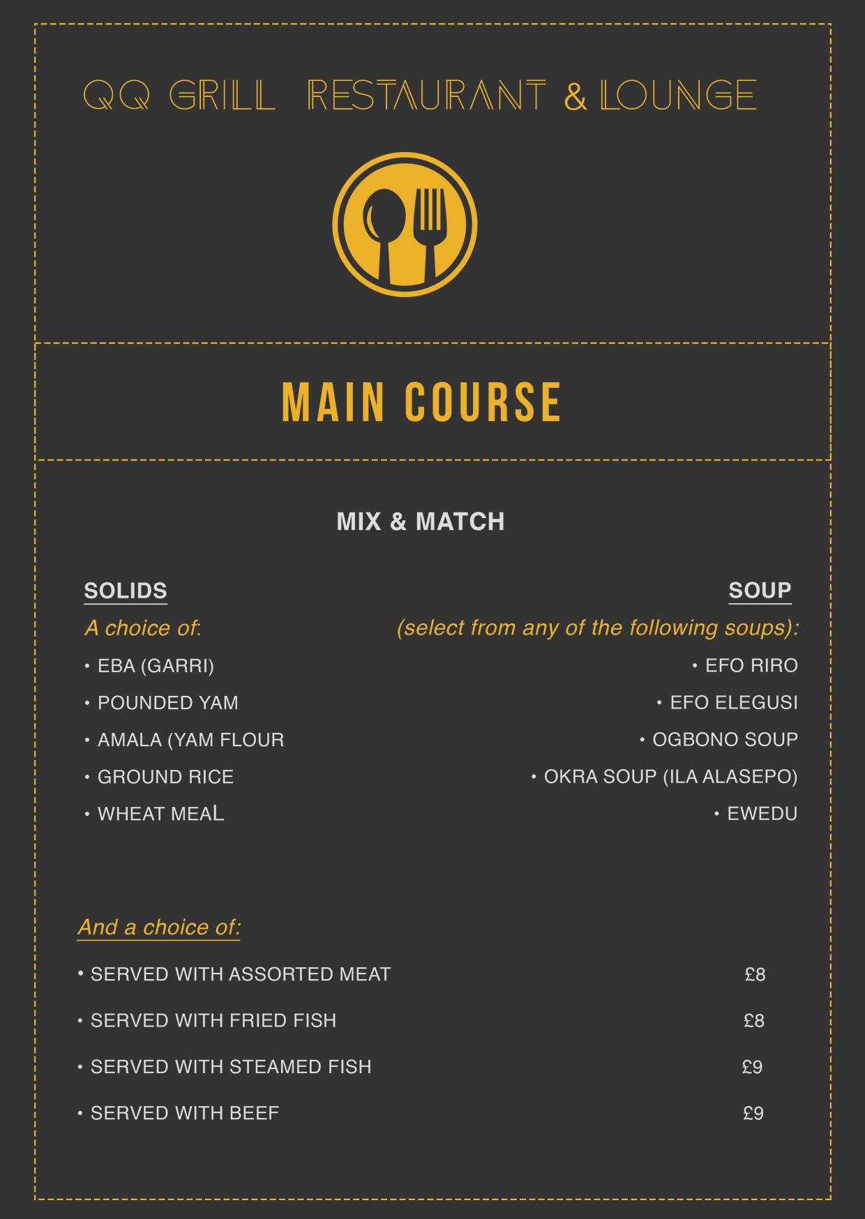 QQ Lounge main-course