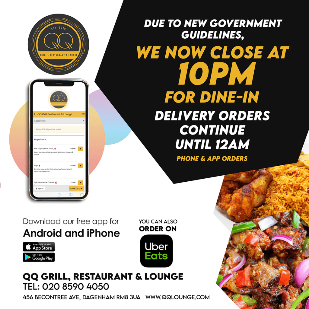 QQ Restaurant and lounge close at 10pm