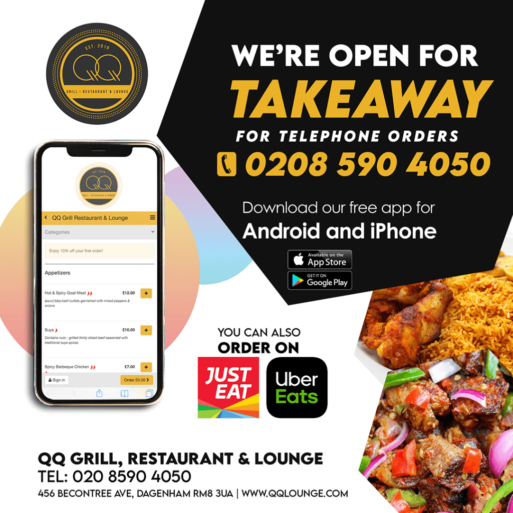 QQ Lounge Food Delivery